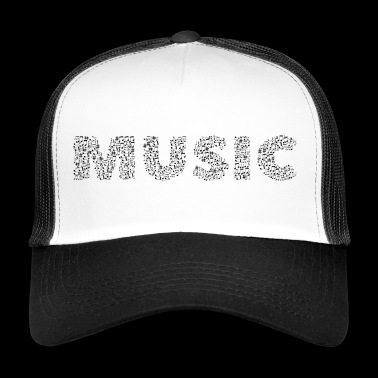 Musique de notes - Trucker Cap