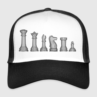 Chess pieces! - Trucker Cap