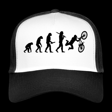 dirtbike evolution progress development - Trucker Cap