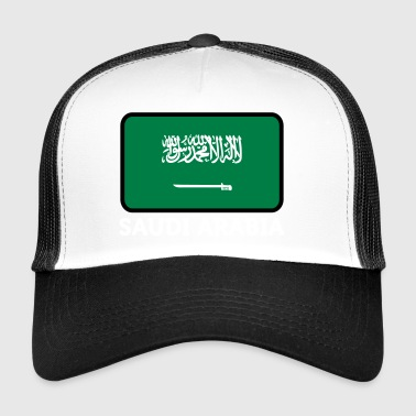 National Flag Of Saudi Arabia - Trucker Cap