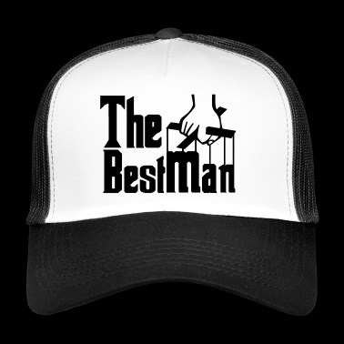 The Best Man. Stag Night. Stag Party. Bestseller. - Trucker Cap