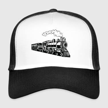 Locomotive / Locomotive 02_black - Trucker Cap