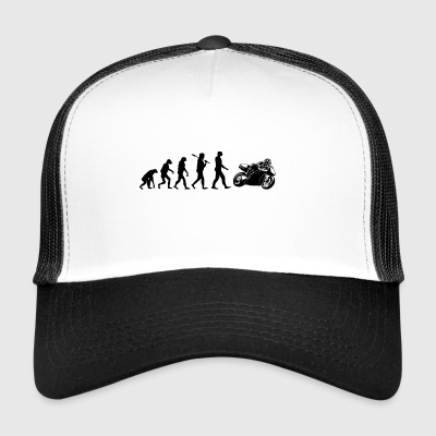 Motorcycle Superbike Evolution Gift - Trucker Cap