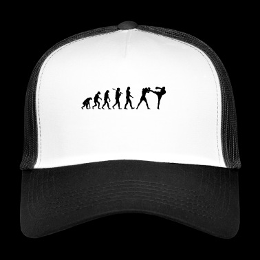 Kickboxing T-Shirt · Evolution · Kickboxing · Sports - Trucker Cap