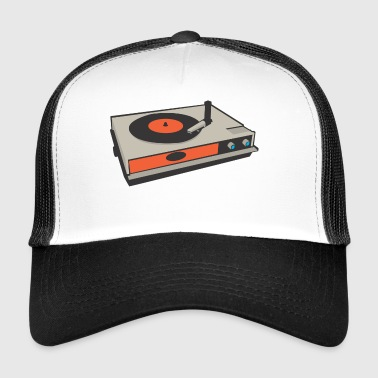 record player - Trucker Cap