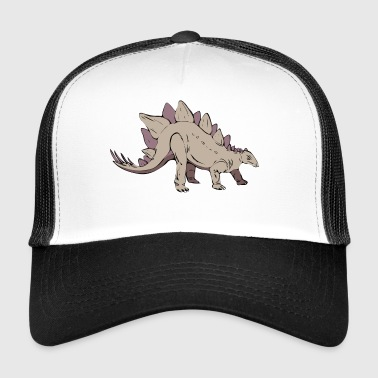 stegosaurus dinosaur ancient extinct - Trucker Cap