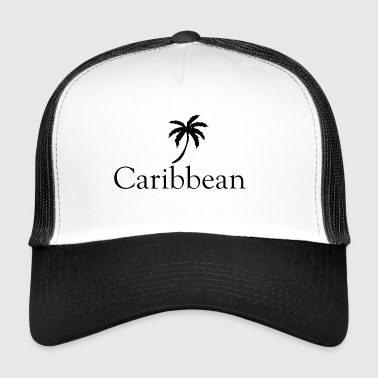 Caribbean sea shore - Trucker Cap