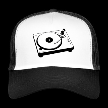 Turntable Turntable Vinyl Retro Gift - Trucker Cap
