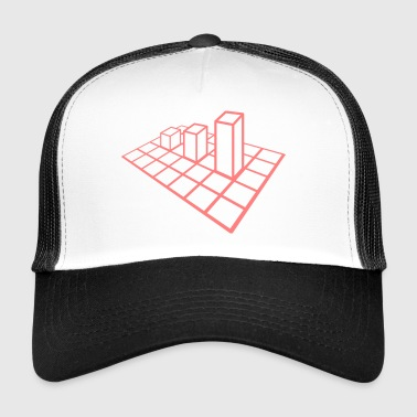 Diagramm - Trucker Cap