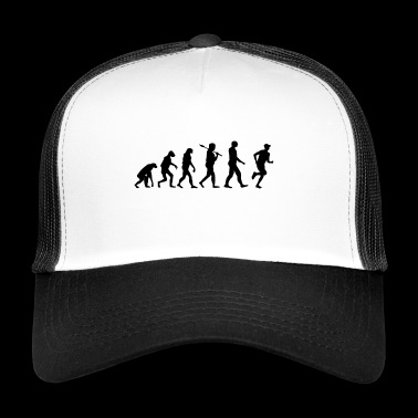 Marathon T-shirt · Evolution · coureur · Sport - Trucker Cap