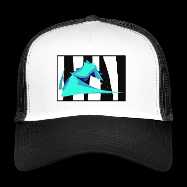 Zebra Wave - Trucker Cap