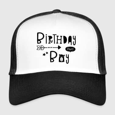 Birthday Boy - Boys - Boys - Boys - Kid - Kids - Trucker Cap
