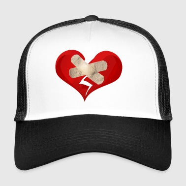 broken heart - Trucker Cap