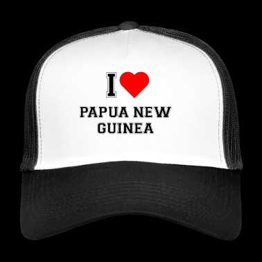 I love Papua New Guinea - Trucker Cap