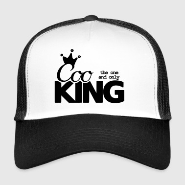 Chef king chef hobby chef funny saying - Trucker Cap