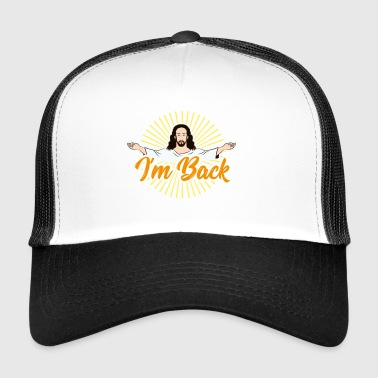 Jesus Christ Easter heaven catholic church - Trucker Cap