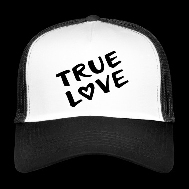 true love true love - Trucker Cap