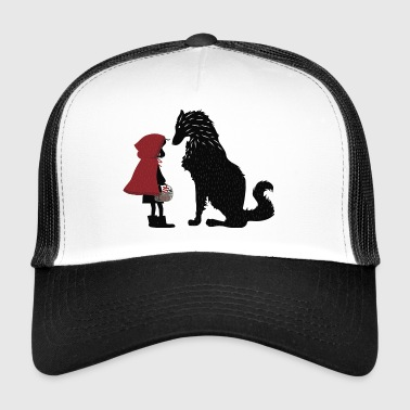 Little Red Riding Hood and the bad wolf - Trucker Cap
