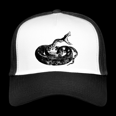 The fury of the snake - Trucker Cap