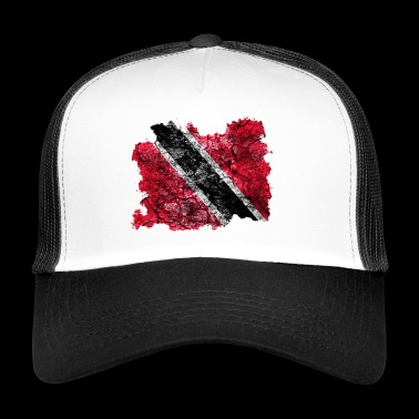 Trinidad and Tobago vintage flag - Trucker Cap