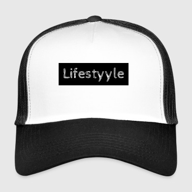 Lifestyyle black - Trucker Cap