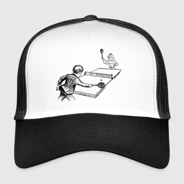 tennis de table de ping pong ping-pong bat4 - Trucker Cap