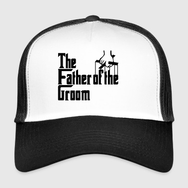 Stag Night. The Father of the Groom Party Gifts. - Trucker Cap