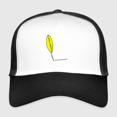 Writer's pen - Trucker Cap