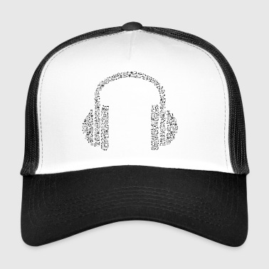 headset - Trucker Cap