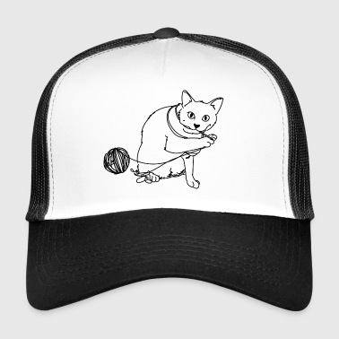 jouer chat - Trucker Cap
