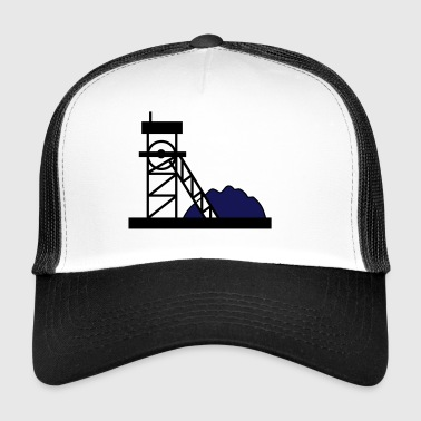 Coal mine mine gift idea work hobby - Trucker Cap