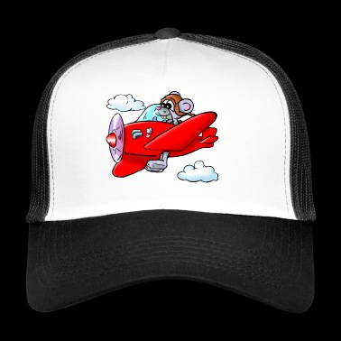 flight mouse - Trucker Cap