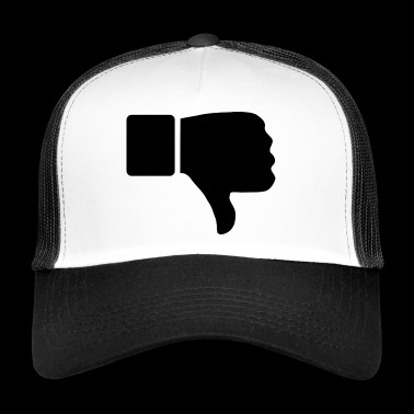 thumbs down - Trucker Cap