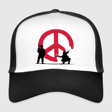 peace not war - Trucker Cap