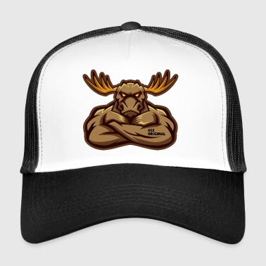 Ace Original Moose Mascot - Trucker Cap