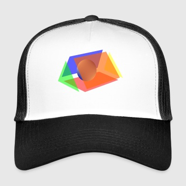 prism and sphere - Trucker Cap