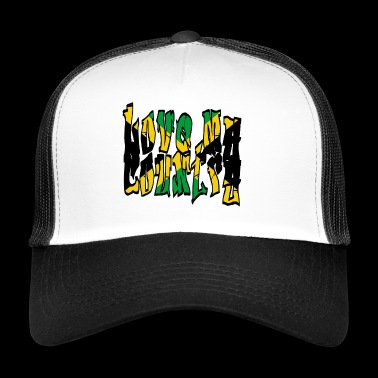 LOVE my Country (Jamaica) - Trucker Cap