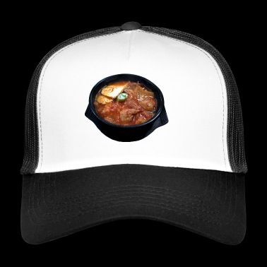 soup stew soup bowl noodle cooking food5 - Trucker Cap