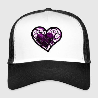 ornement de coeur - Trucker Cap