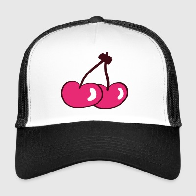 cherries kirschen veggie obst fruits - Trucker Cap