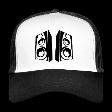 Music boxes sound system - Trucker Cap