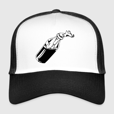 bomb, cocktail,benzin - Trucker Cap