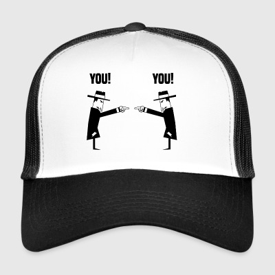 Spies with hat - Trucker Cap