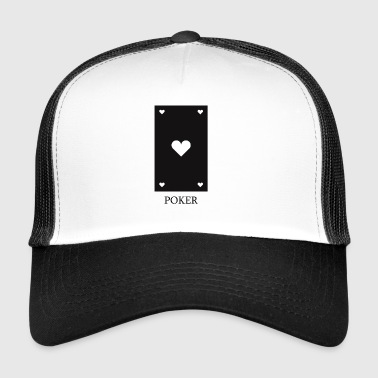 poker card - Trucker Cap