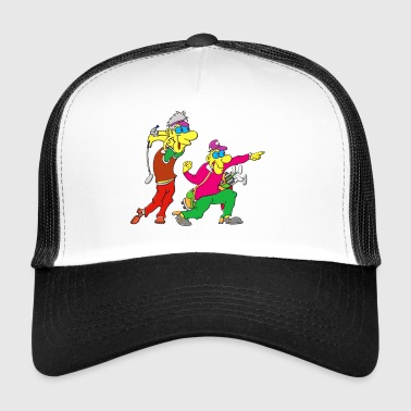 golf golfari golfing play pelaaja pallo sports27 - Trucker Cap