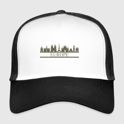 skyline europe - Trucker Cap