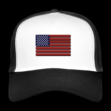 United States flag - Trucker Cap