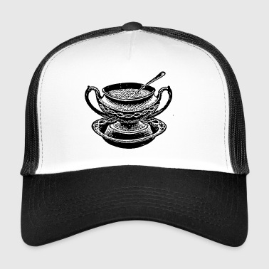 soup stew soup bowl noodle cooking food20 - Trucker Cap