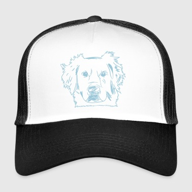 Golden Retriever Kiwi - Trucker Cap