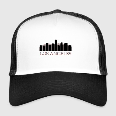Skyline von Los Angeles - Trucker Cap